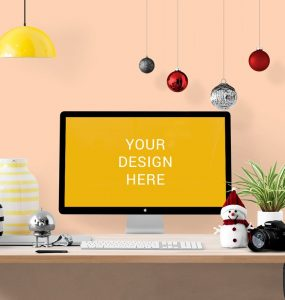 iMac Cinema Display Mockup Free PSD Watch, vase, snow man, slr, Showcase, PSD Mockups, psd mockup, psd freebie, presentation, Plants, photorealistic, orange wall, mockup template, mockup psd, Mockup, mock-up, Lamp, imac mockup, imac cinema display mockup, iMac, greenary, Freebie, Free PSD, free mockup, download mockup, Download, decorations, cinema display, branding,