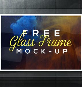 Realistic Glass Frame Mockup Free PSD Showcase, PSD Mockups, psd mockup, psd freebie, presentation, photorealistic, mockup template, mockup psd, Mockup, mock-up, Hanging, glass frame mockup, glass frame, glass board, Free PSD, free mockup, Frame, download mockup, Download, branding, advertisement board,