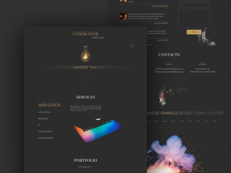 Dark Minimalistic Web Template PSD www, Website Template, Website Layout, Website, webpage, Web Template, Web Resources, web page, Web Layout, Web Interface, Web Elements, Web Design, Web, User Interface, UI, Template, team, Stylish, startup, Single Page, Resources, Psd Templates, PSD Sources, psd resources, PSD images, psd free download, psd free, PSD file, psd download, PSD, Portfolio, Photoshop, Personal Website, minimalistic, Layered PSDs, Layered PSD, landingpage, landing page template, landing page psd, Landing Page, Homepage, Graphics, Freebies, Freebie, Free Resources, Free PSD, free download, Free, Elements, download psd, download free psd, Download, Design, Dark, Corporate, Black, agency webiste, agency, advertising agency, Adobe Photoshop,