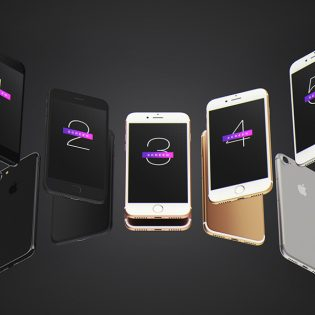 iPhone 7 Mockup Free PSD