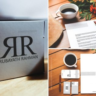 Business Identity Presentation Mockup Set Free PSD