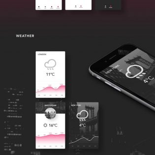 Vector UI element Kit Free PSD