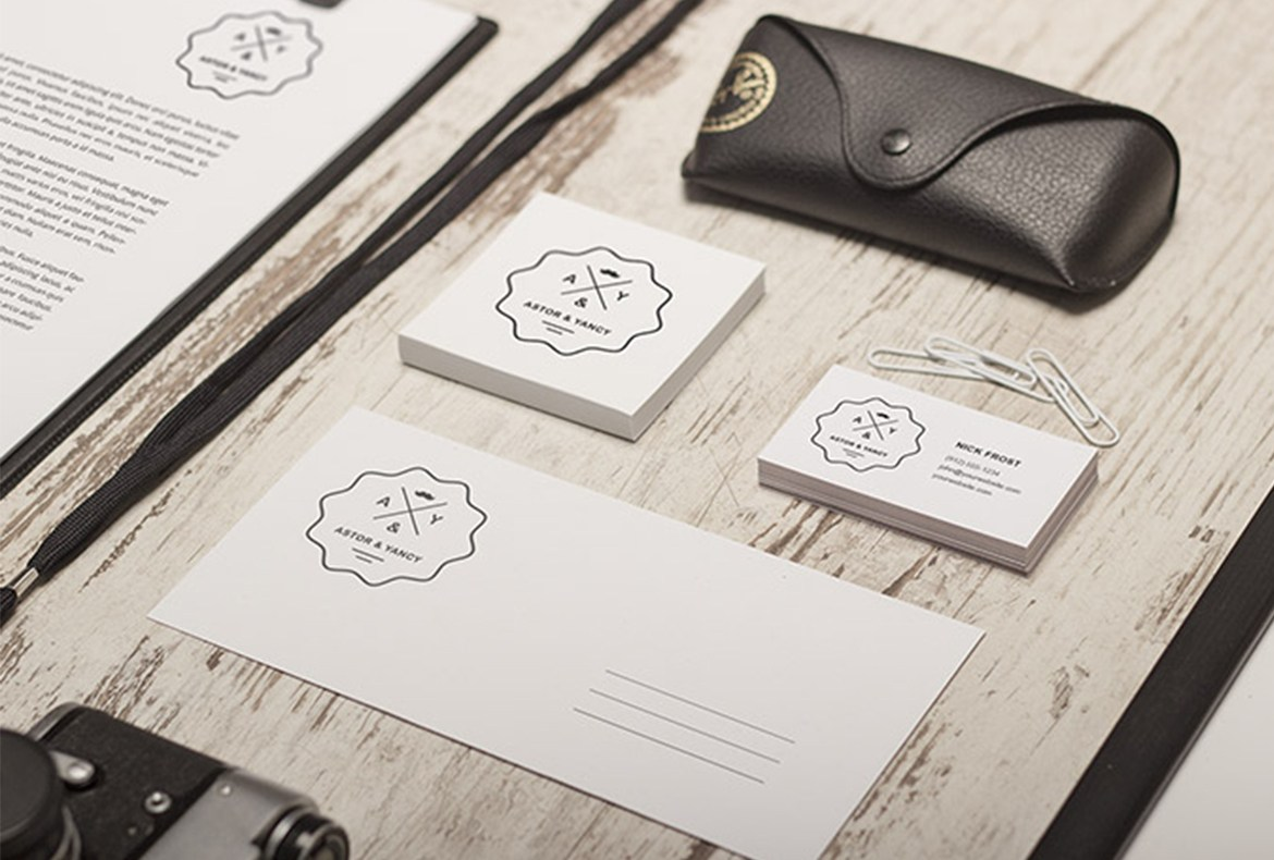 Personal Identity Realistic Mockup