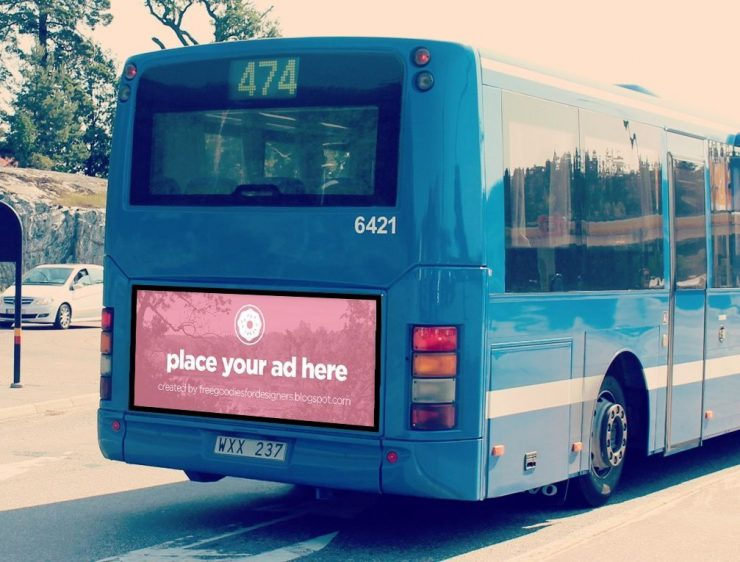 Bus Advertising billboard Mockup Free PSD Showcase, PSD Mockups, psd mockup, psd freebie, presentation, Photoshop, photorealistic, mockup template, mockup psd, Mockup, mock-up, in, Free PSD, free mockup, download mockup, Download, bus, branding, Billboard,