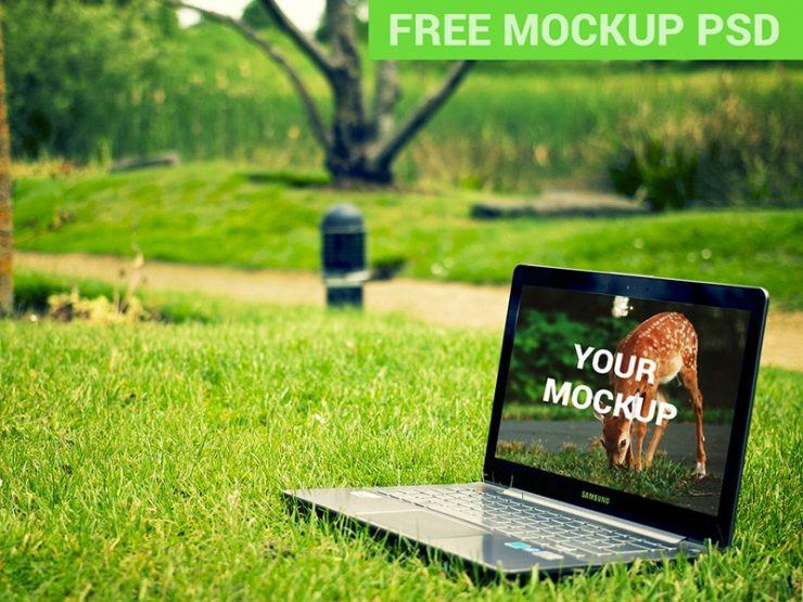 Samsung Laptop Notebook In The Park Free PSD Showcase, PSD Mockups, psd mockup, psd freebie, presentation, photorealistic, NoteBook, mockups, mockup template, mockup psd, Mockup, mock-up, Laptop Notebook In The Park, Laptop, in the park, Free PSD, free mockups, free mockup, download mockup, Download, branding,