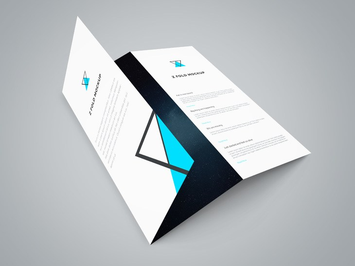 Tri Fold Brochure Mockup Template Free PSD tri, Showcase, PSD Mockups, psd mockup, psd freebie, presentation, photorealistic, mockup template, mockup psd, Mockup, mock-up, Freebie, Free PSD, free mockup, folded, fold, download mockup, Download, Brochure, branding,