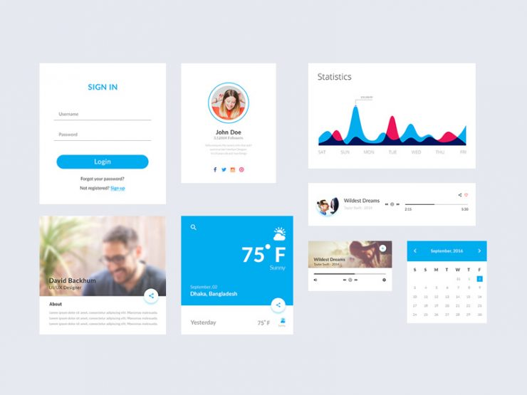Simple Flat Material UI Kit Free PSD Web Resources, Web Elements, Web Design Elements, Web, UX, User Interface, ui set, ui kit psd, ui kit, UI elements, UI, Statistics, Resources, Psd Templates, PSD Sources, psd resources, PSD images, psd free download, psd free, PSD file, psd download, PSD, Profile, Player, Photoshop, navigation menu, Music Player, Menu, material, Layered PSDs, Layered PSD, Interface, GUI Set, GUI kit, GUI, Graphics, Graphical User Interface, graph, Google, Freebies, Free Resources, Free PSD, free download, Free, experience, Elements, download psd, download free psd, Download, Design Resources, Design Elements, Design, Button, Adobe Photoshop,