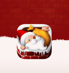 Christmas App Icon Free PSD