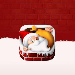 Christmas App Icon Free PSD