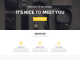 Clean Personal Portfolio Website Template PSD