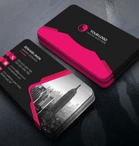 Creative Business Card Free PSD Template