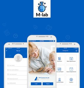 Healthcare Medical Mobile App Free PSD