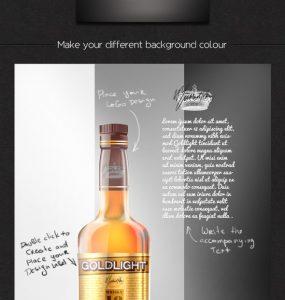 Whisky Bottle Mockup Free PSD whisky bottle, whisky, Template, Showcase, PSD Mockups, psd mockup, psd freebie, PSD, presentation, photorealistic, Party, packaging, mockup template, mockup psd, Mockup, mock-up, glass bottle mockup, Glass, Free PSD, free mockup, Free, Drink, download mockup, Download, branding, Brand, bottle mockup, Bottle,