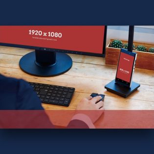Corporate Workspace Mockup Free PSD