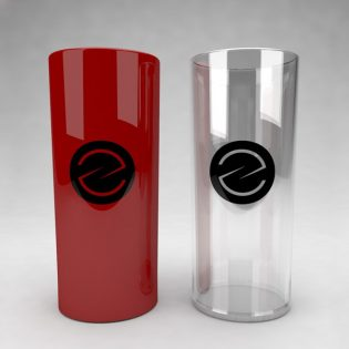 Drinking Glass Mockup Free PSD