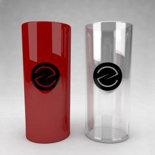 Drinking Glass Mockup Free PSD
