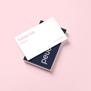 Business Card Template Design Mockup Free PSD