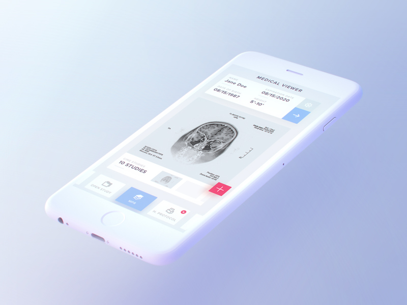 White IPhone 7 Mockup Free PSD