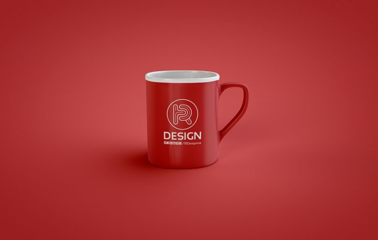 Coffee Mug Mockup PSD