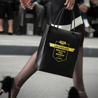 Shopping Hand Bag Mockup Free PSD