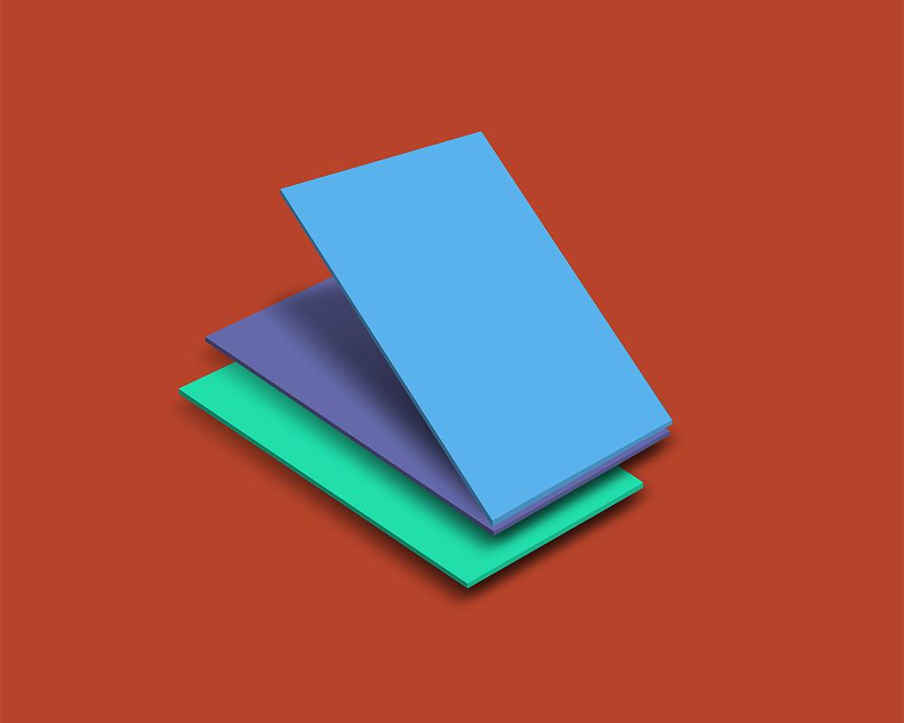 Isometric Mobile App UI Mockup PSD