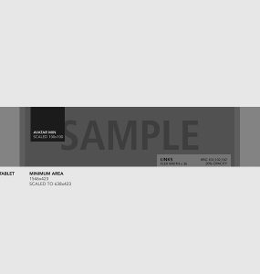Youtube Channel Cover Template Mockup Free PSD