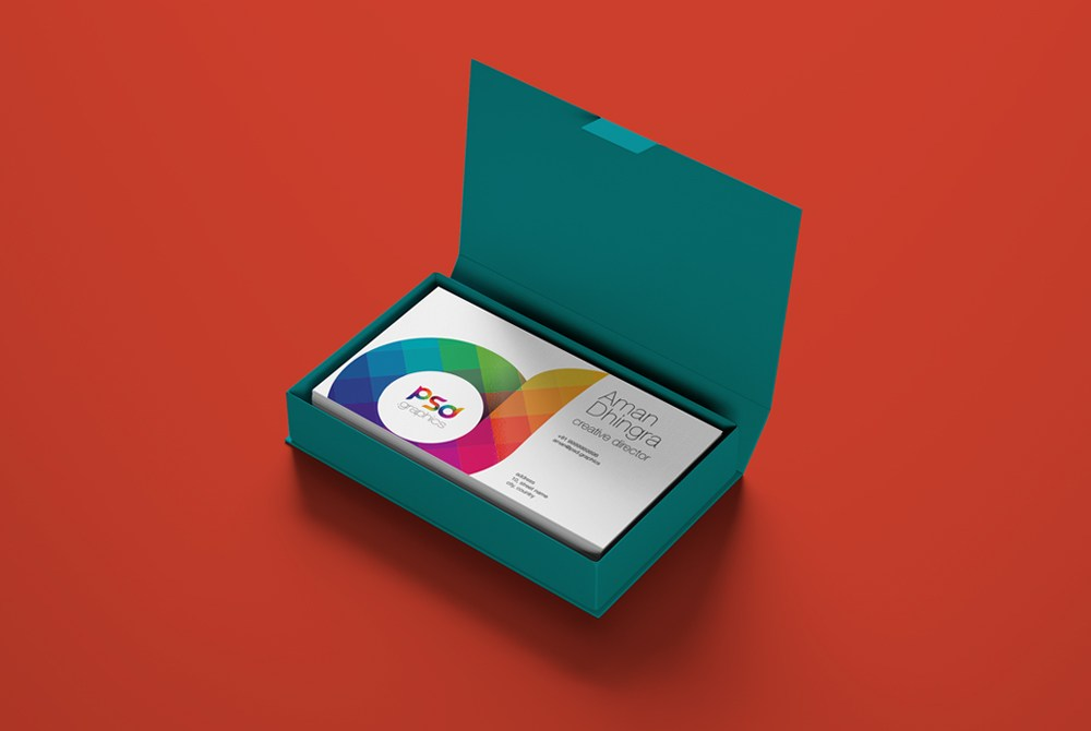 Download Business Card Mockup PSD Download PSD