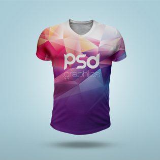 T-Shirt Mockup PSD Template