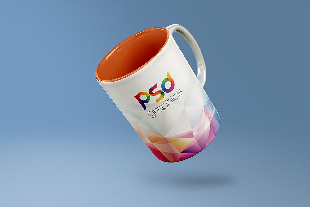 Coffee Mug Mockup Free PSD