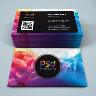 Creative Studio Business Card PSD