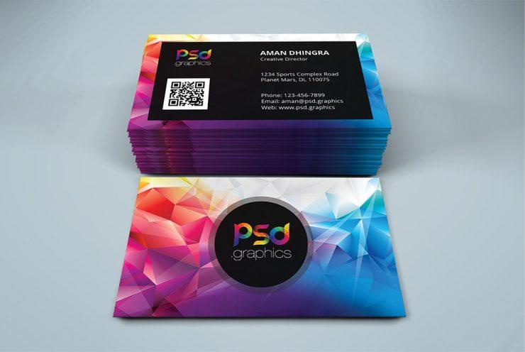 Creative Studio Business Card PSD
