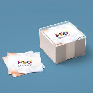Sticky Notes Branding Mockup Free PSD