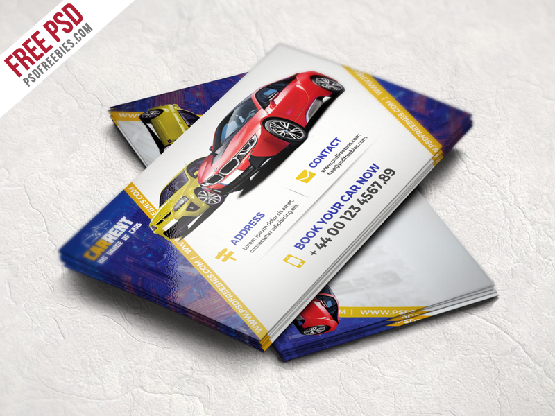 Car dealer business card template free psd download download psd car dealer business card template free psd wajeb