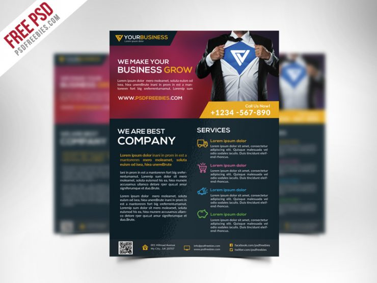 Free Corporate Business Flyer Template PSD unique, trending, Template, standard, spot flyer, smooth flyer, Simple, real flyer, psd graphics, psd flyer, PSD, Professional, print ready, print catalog, Print, Photoshop File, Photoshop, New FLyer, music branding, Multipurpose, Morden Flyer, modern design, Modern, Minimal, Layered PSD, imagine flyer, hi quality, Graphic, fresh flyer, free psd flyer, Free PSD, free flyer, flyer template, Flyer, designer, Design, creative flyer, Creative, corporate solution, corporate flyer psd, corporate flyer, Corporate Business, Corporate, company, Colorful, cmyk, Clean, business solution, business flyer psd, business flyer, branding flyer, agency, advertisement,