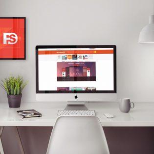 Macintosh Mockup Free PSD