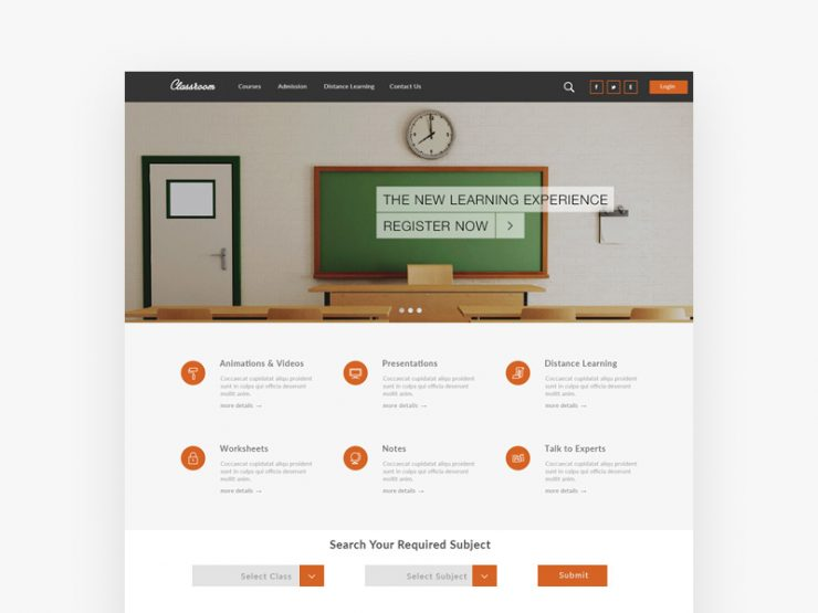 Online Education Website Template Free PSD www, White, webste tempate, Website Template, Website Layout, Website, webpage, Web Template, Web Resources, web page, Web Layout, Web Interface, Web Elements, Web Design, Web, User Interface, unique, UI, Template, Stylish, Simple, school website, School, Resources, Quality, Psd Templates, PSD Sources, psd resources, PSD images, psd free download, psd free, PSD file, psd download, PSD, Photoshop, pack, original, online education, new, Modern, Layered PSDs, Layered PSD, Graphics, Fresh, Freebies, Freebie, Free Resources, Free PSD, free download, Free, eLearning, Êelements, education website template, education website, education learning, Education, e-learning, download psd, download free psd, Download, detailed, Design, Creative, Clean, class room, Adobe Photoshop,