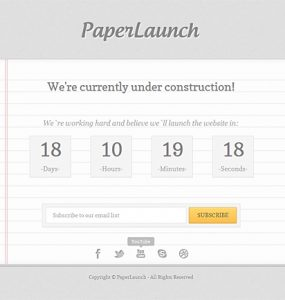 PaperLaunch Free Under Construction Template PSD www Website Template Website Layout Website webpage Web Template Web Resources web page Web Layout Web Interface Web Elements Web Design Web User Interface Under Maintenance Under Construction UI Template Resources Psd Templates PSD Sources psd resources PSD images psd free download psd free PSD file psd download PSD Photoshop Paper Maintenance Layered PSDs Layered PSD jQuery html Graphics Freebies Free Resources Free PSD free download Free Elements download psd download free psd Download Contact Us Contact Form Contact Construction ajax Adobe Photoshop
