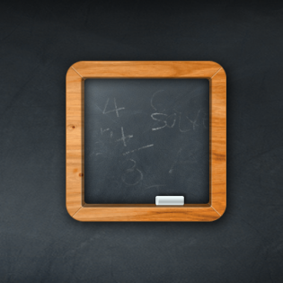 Minimal Chalkboard PSD