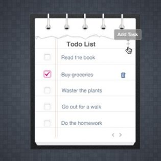 Ripped Task List Free PSD