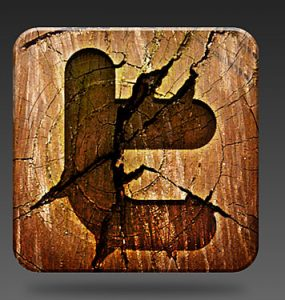 Wooden Social Media Icon PSD Wood Web Resources PSD Layered PSDs Icons Grunge